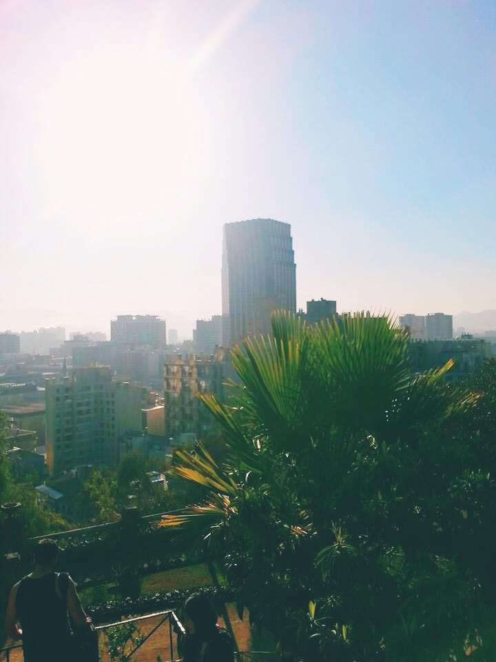Mountain top Views of Santiago |14 Study Abroad Tips for the Best Semester Ever