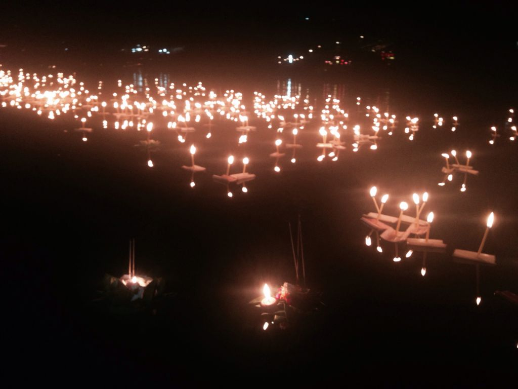 How I Celebrated Chiang Mai's Lantern Festival