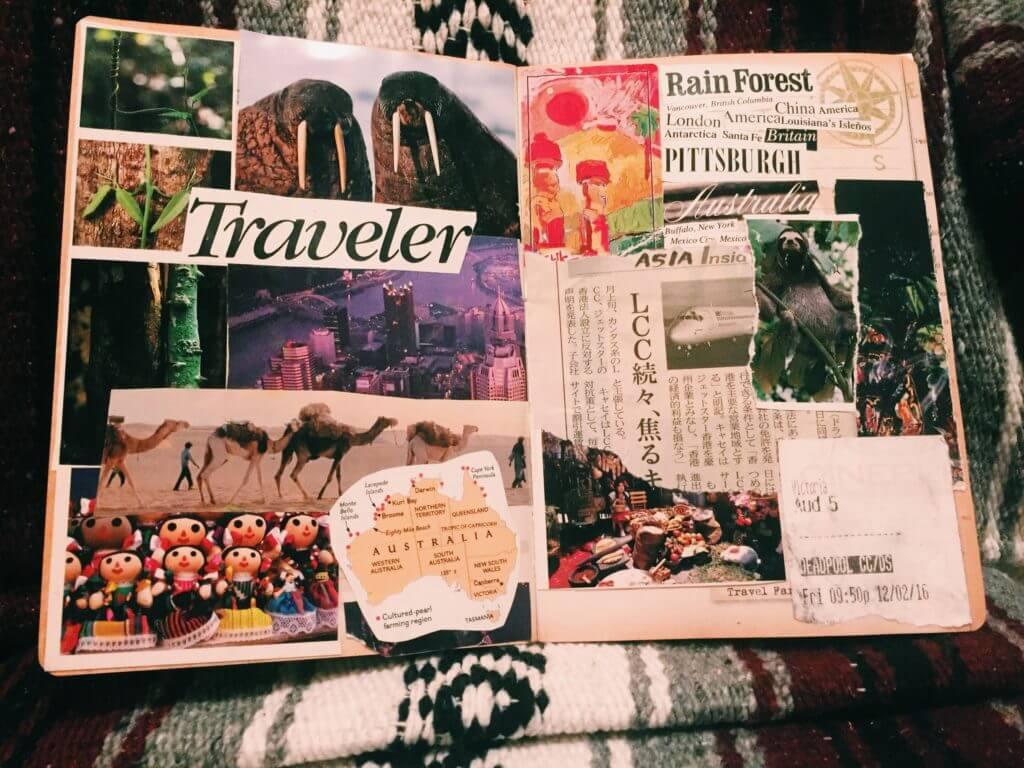 Where Should I Study Abroad | How I Chose to Study Abroad in Chile | Travel Journal Collage