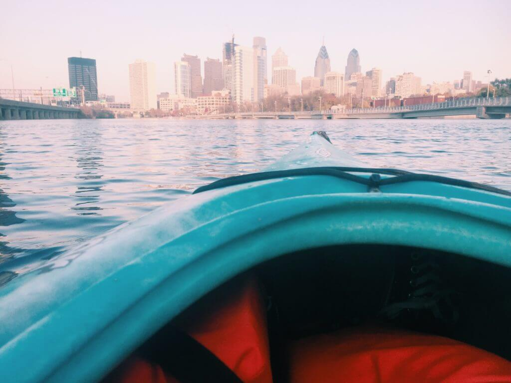 Travel with Anxiety | Kayaking in Philadelphia