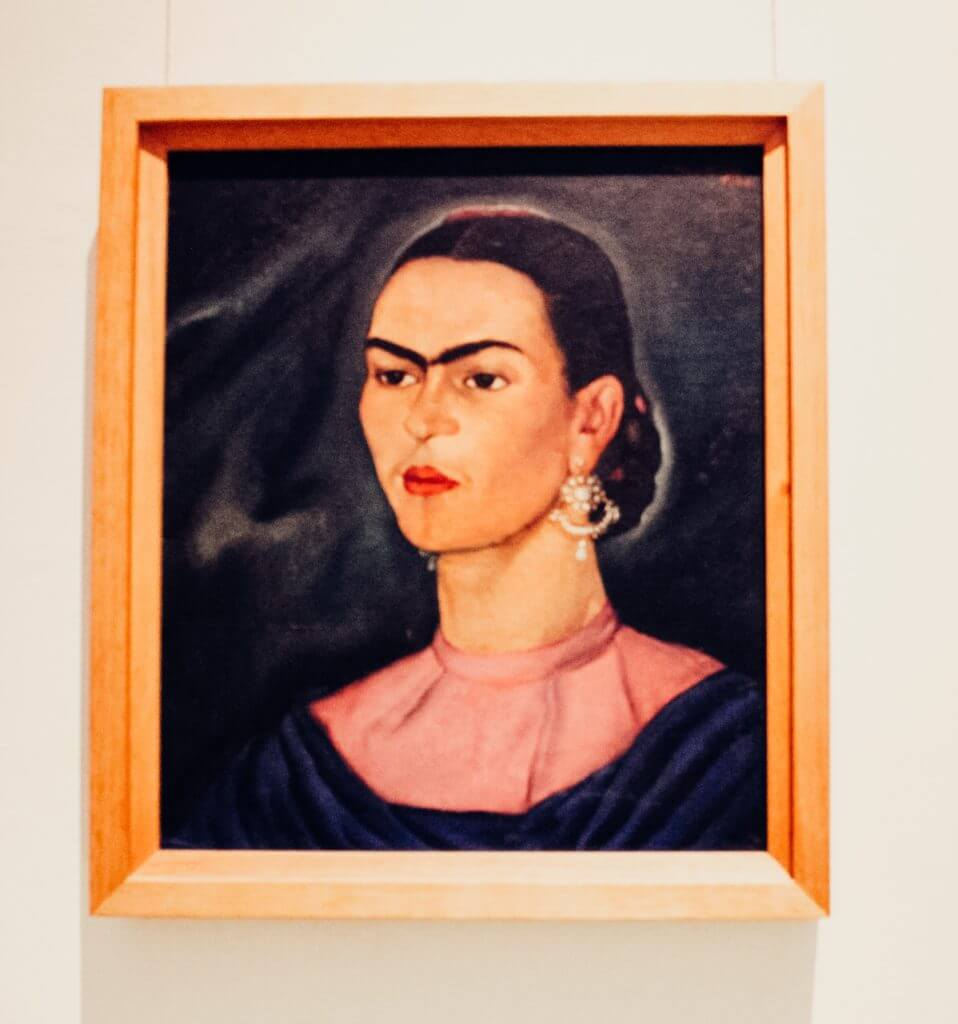 Visiting Frida Kahlo's House in Coyoacán, Mexico City