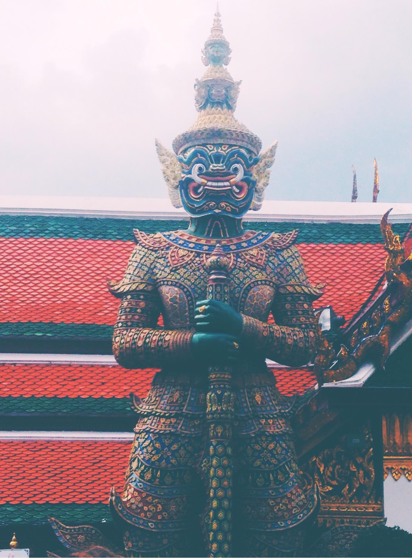 2 Days in Bangkok   Thailand Destinations   King's Palace Statue