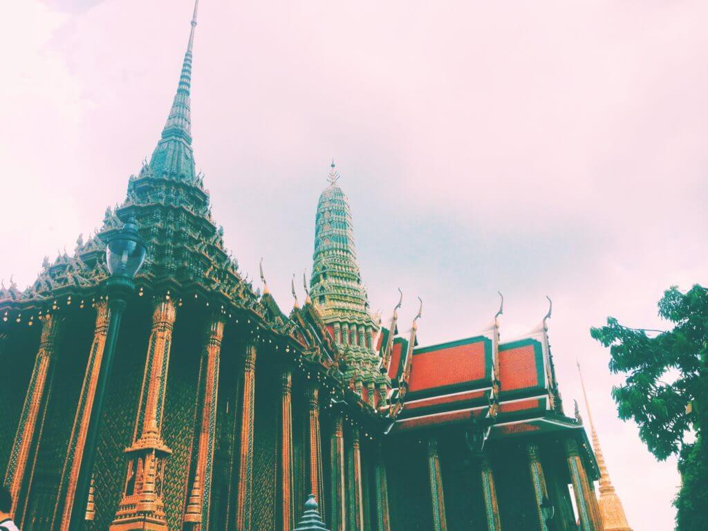 The King's Palace in Bangkok Thailand
