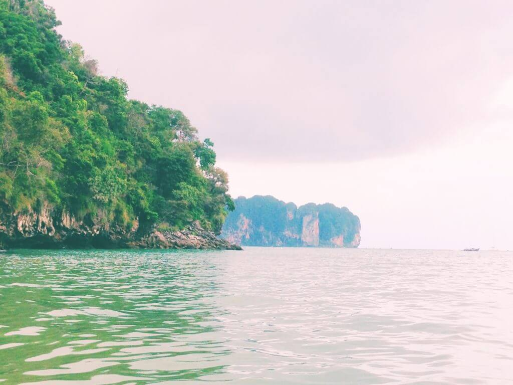 Sea Green Waters in Thailand
