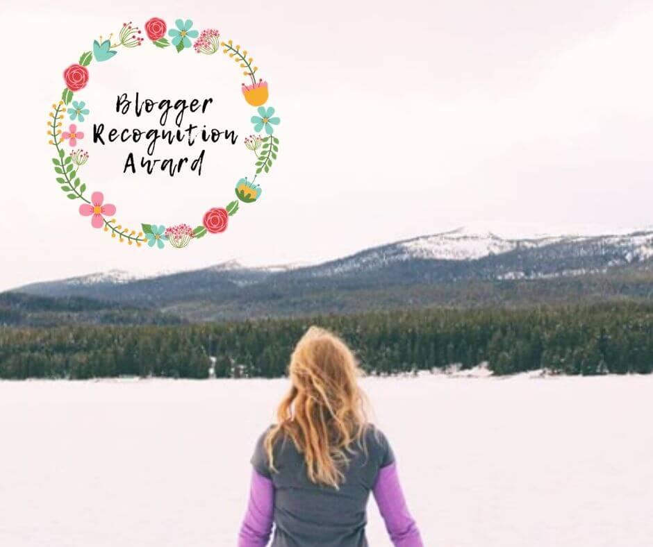 Just Leaving Footprints Blogger Recognition Award