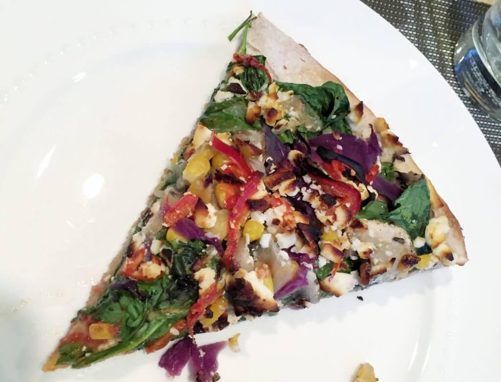 Colorful Veggie Pizza  The Best Vegetarian and Vegan Restaurants in Kelowna, BC