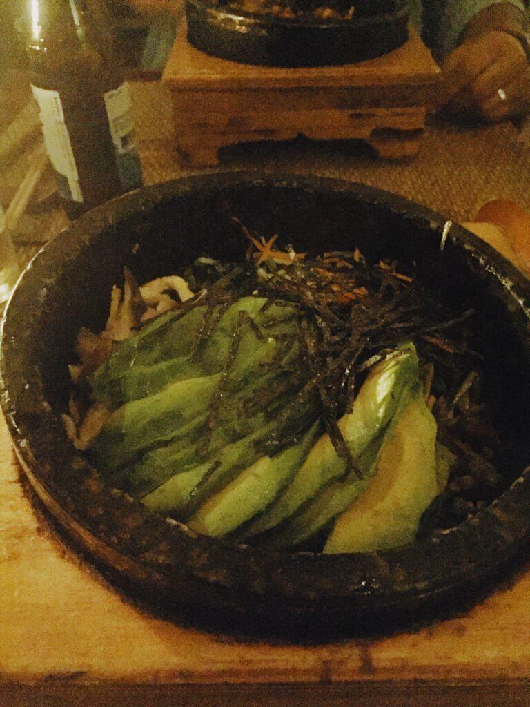 Avocado Bibimbap Korean Food NYC | Hangawi
