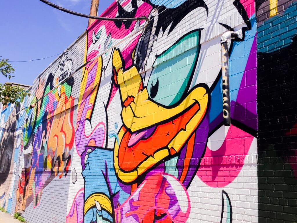 Bushwick Collective Brooklyn NYC | Donald Duck