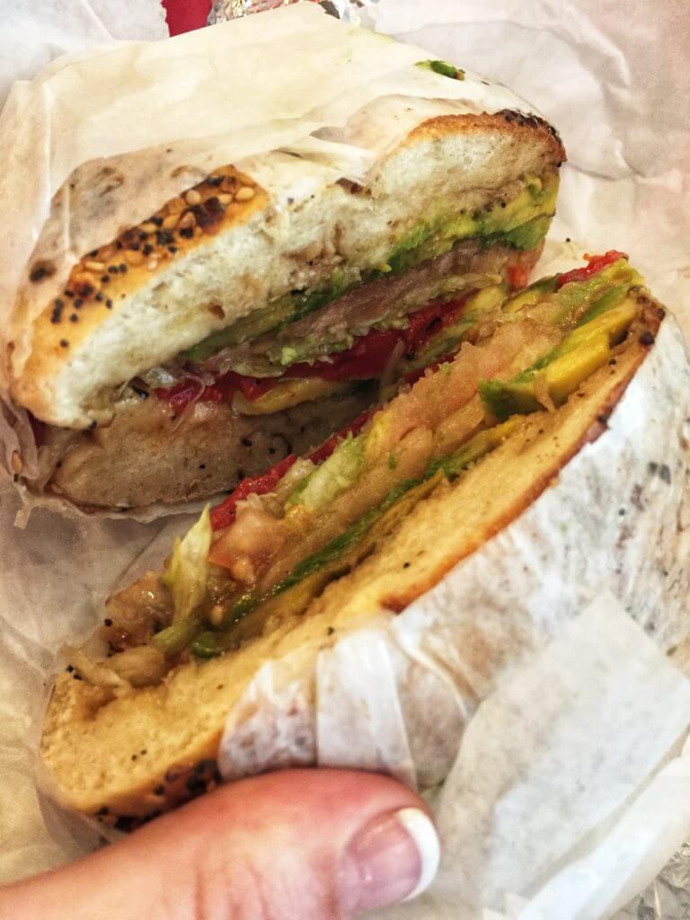 Bagel Sandwich in NYC