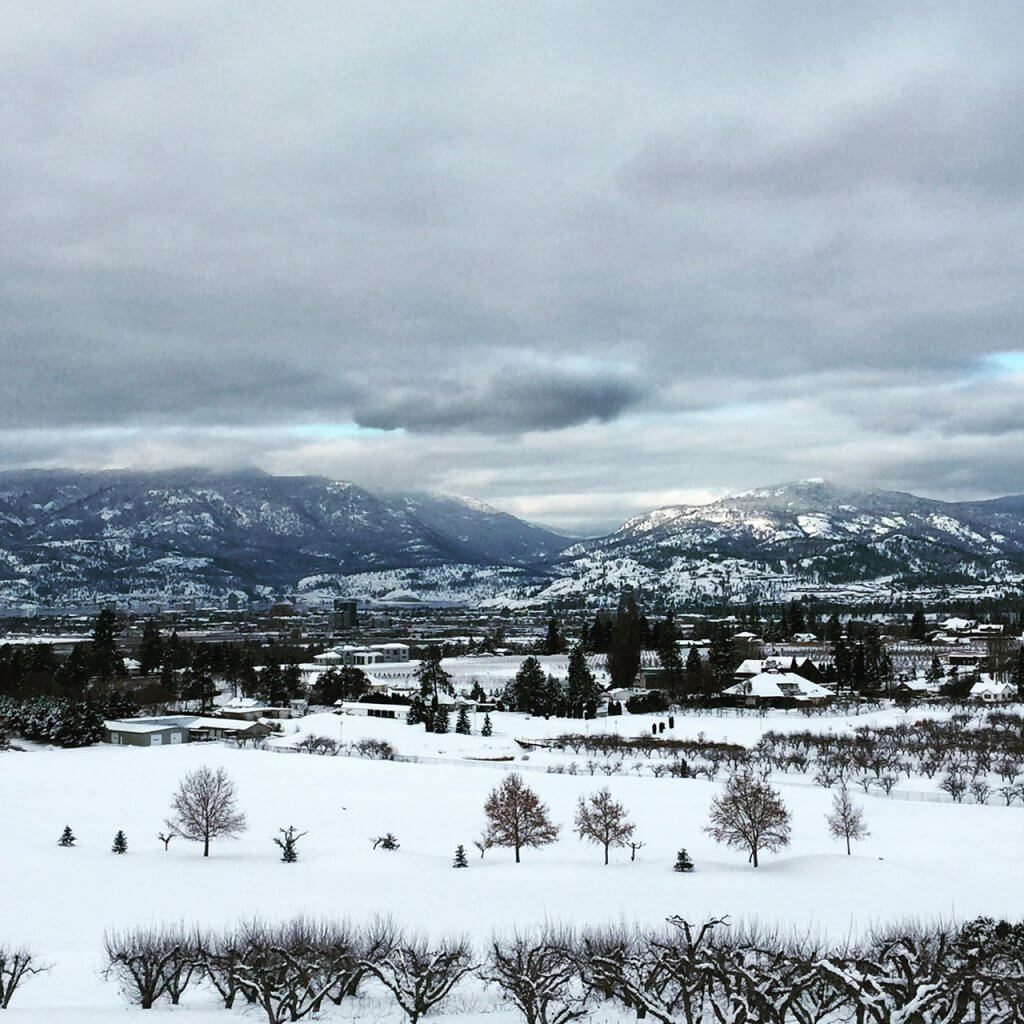 What to do in Kelowna | Winter views