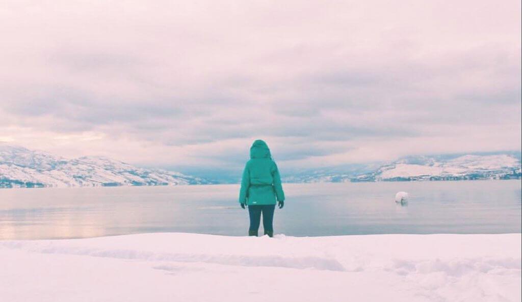 what to do in kelowna | okanagan lake in winter