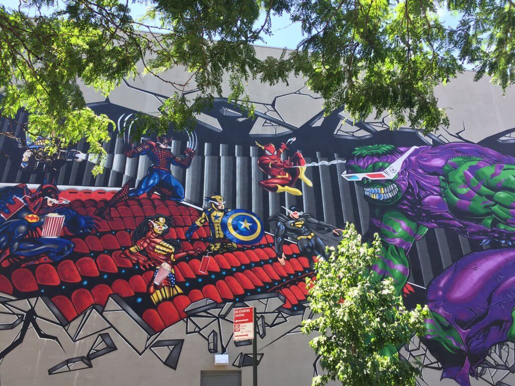 Bushwick Street Art   Superheroes