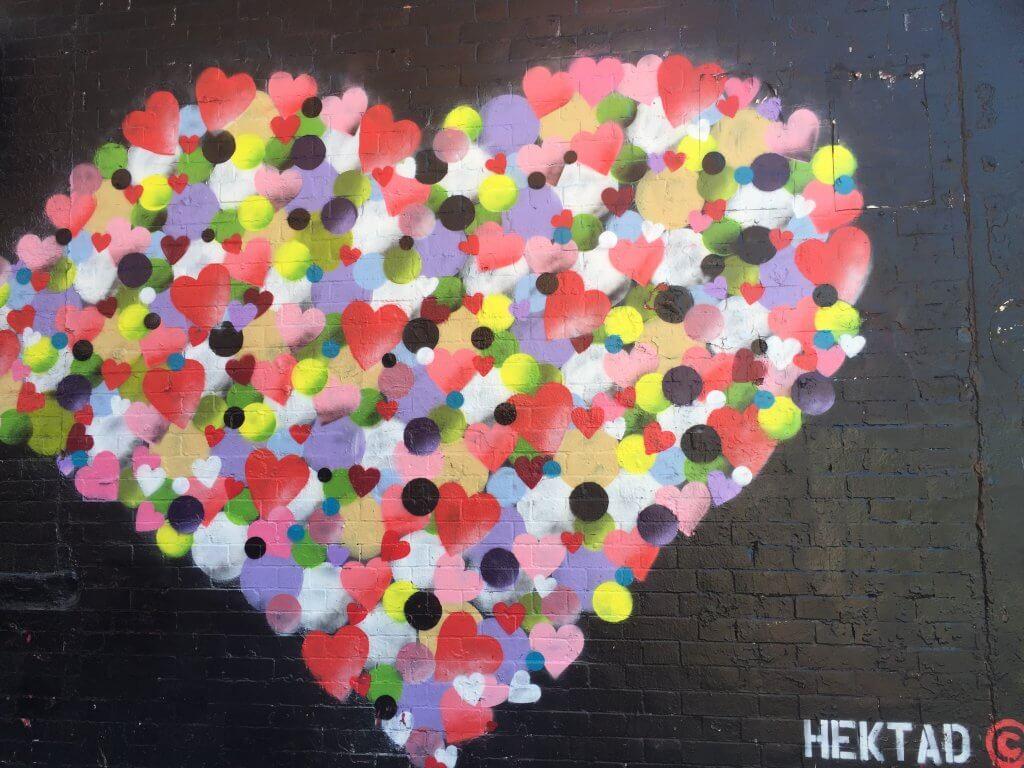 Bushwick Street Art   Hearts Art