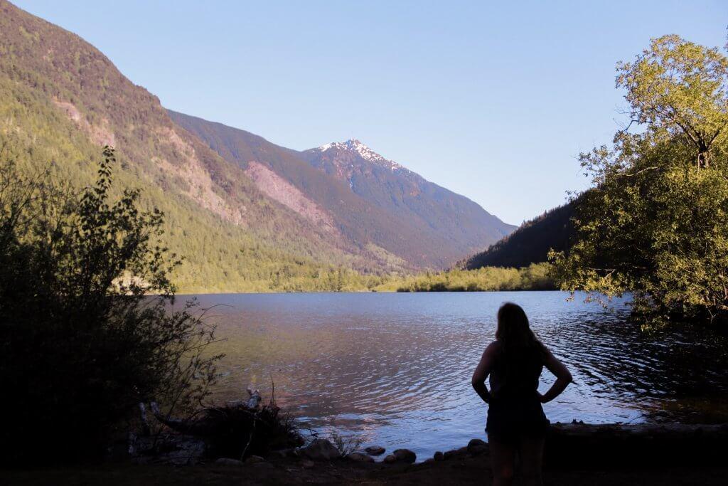 Grow Blog Traffic: Camp at Silver Lake in Hope BC