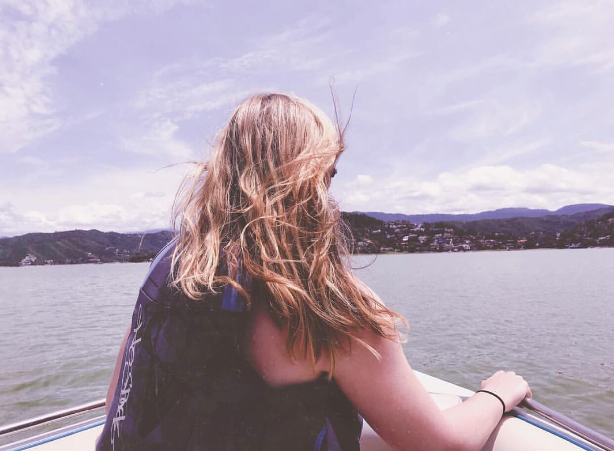 Valle de Bravo Mexico | Boating on the lake