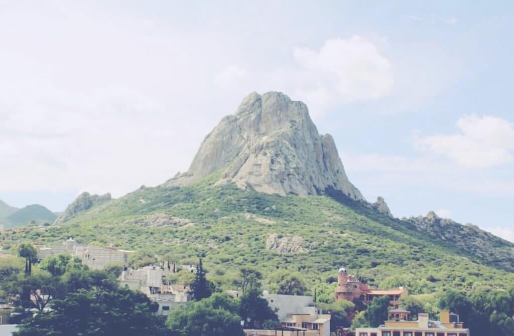 Hiking the Peña de Bernal in Mexico