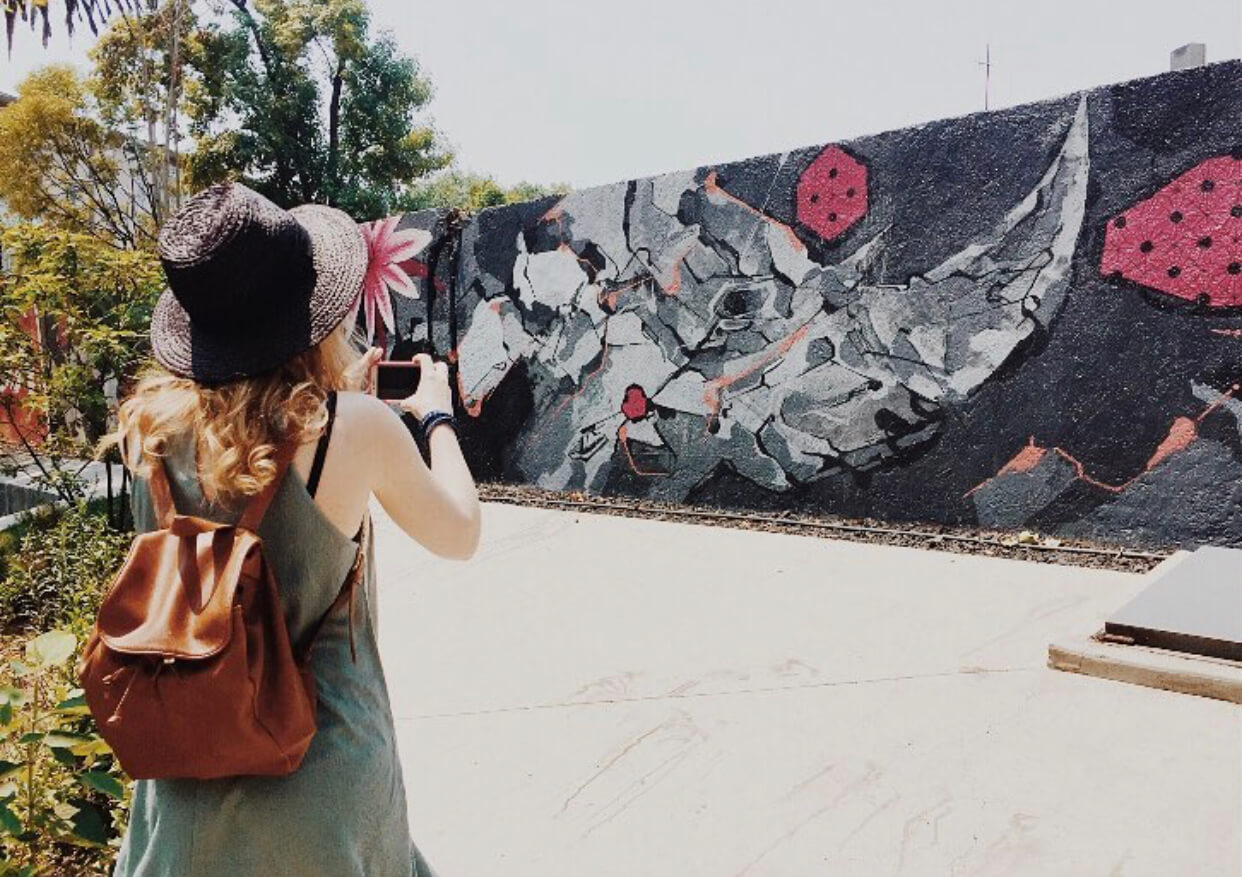 Street Art in La Roma | Things to do in Mexico City