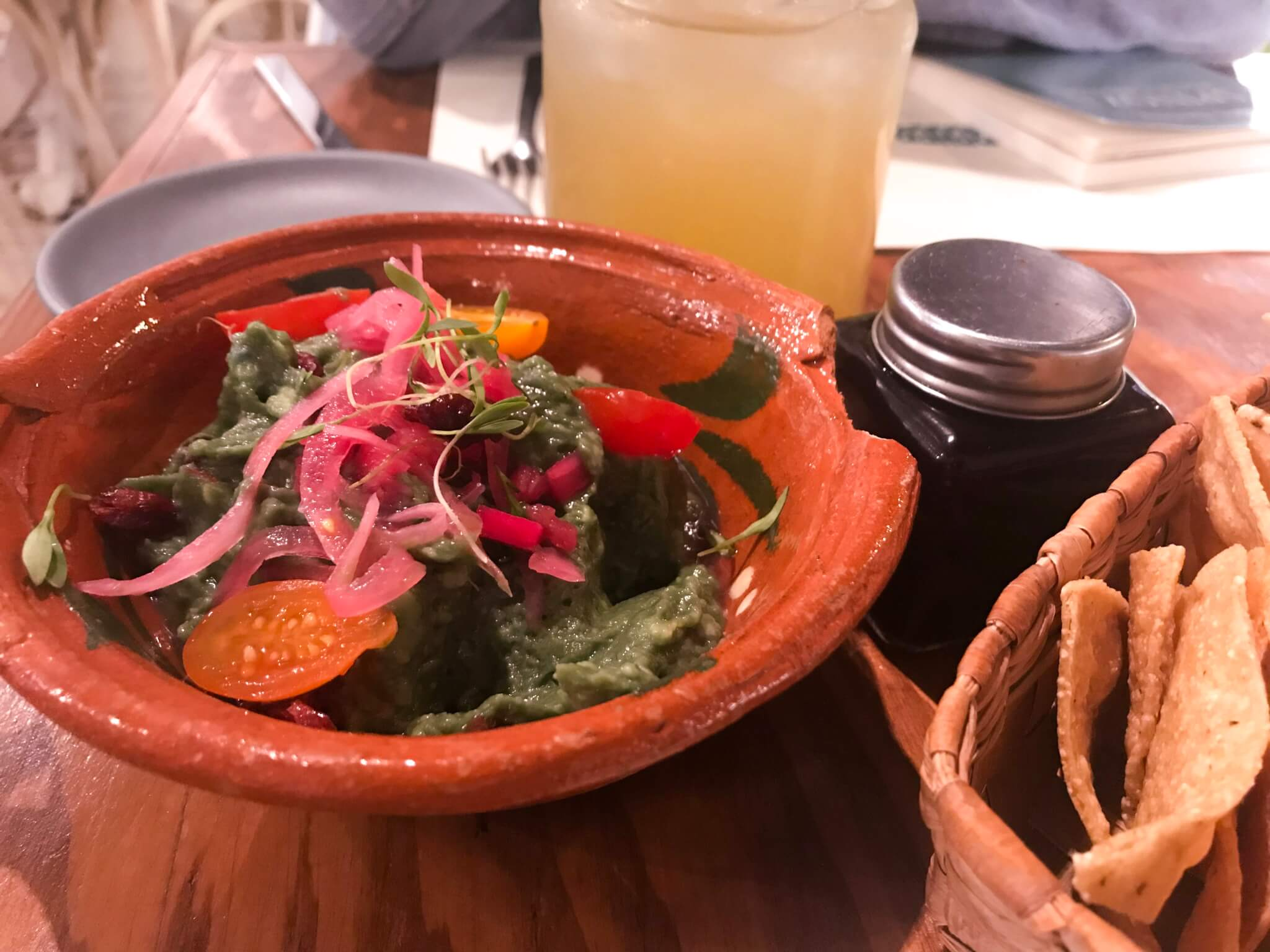 Gift Experiences | Guacamole at Forever Vegano | Vegan Restaurants in Mexico City