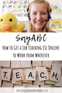 SayABC: How to Get a Job Teaching ESL Online to Work from Wherever