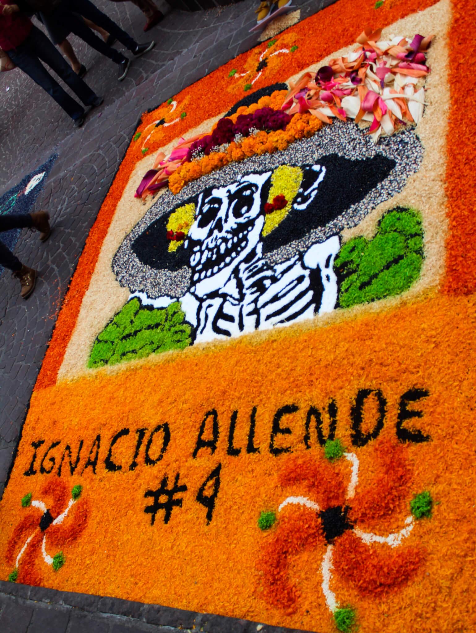Día de Muertos in Mexico   Tapetes