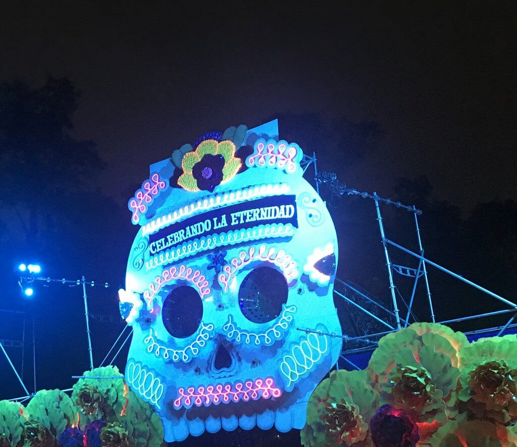 Chapultepec Park Day of the Dead