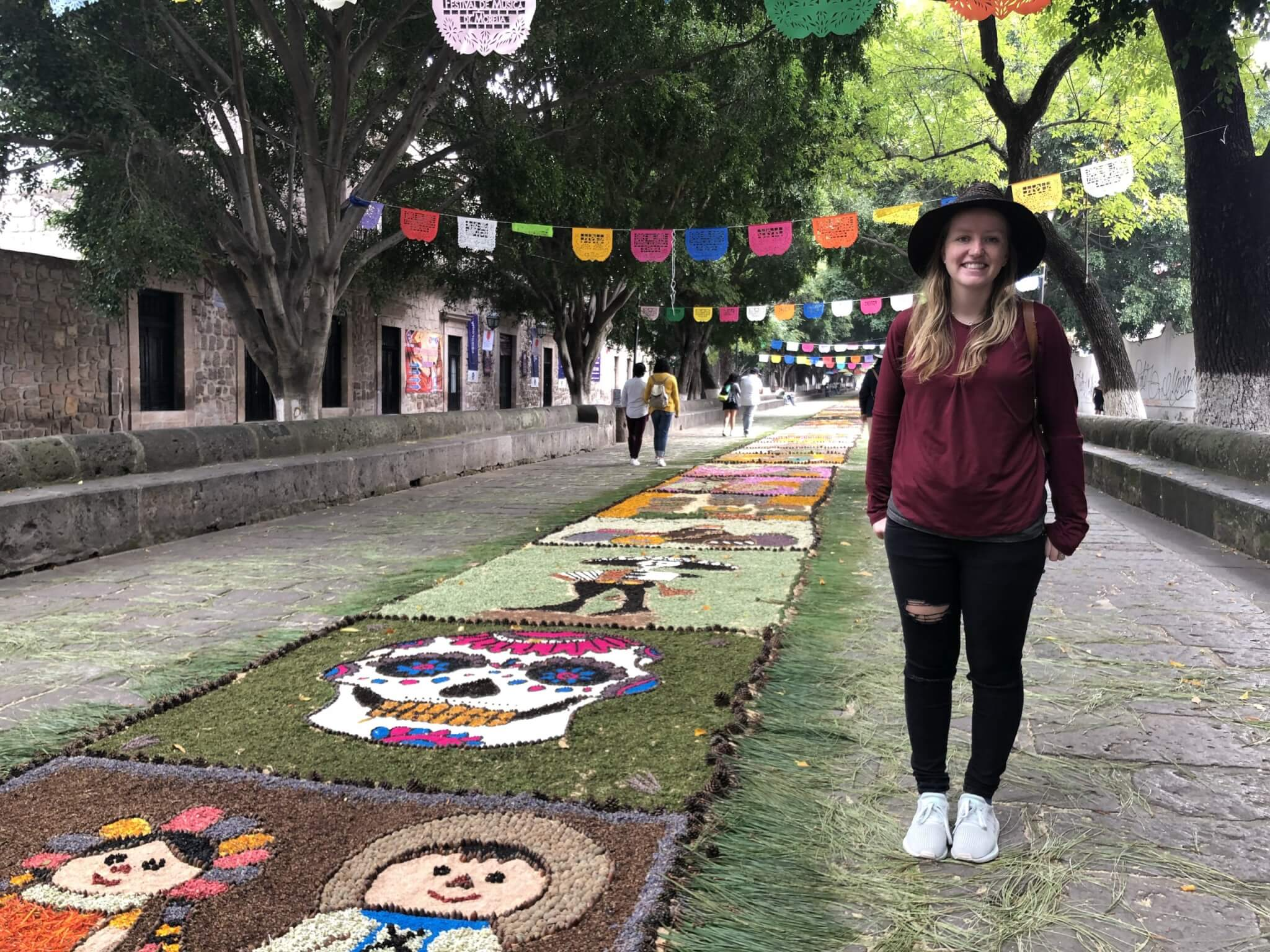 Visit Michoacán | Music Festival Floral Tapetes in Morelia