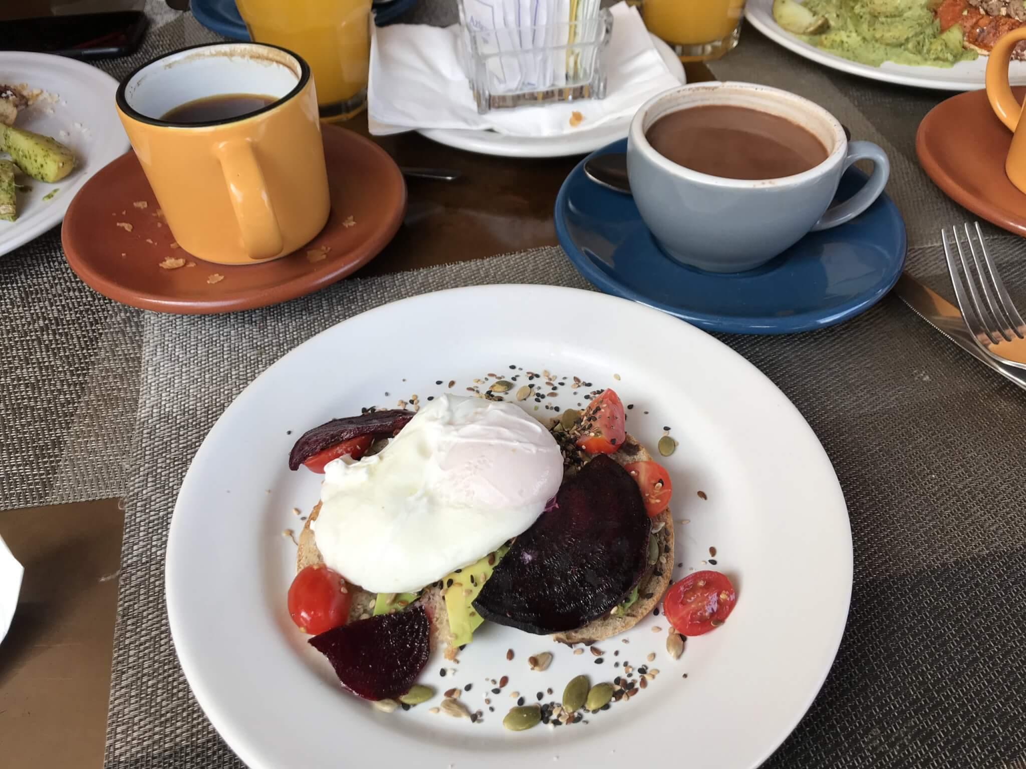 Breakfast at Café Michelena, Morelia