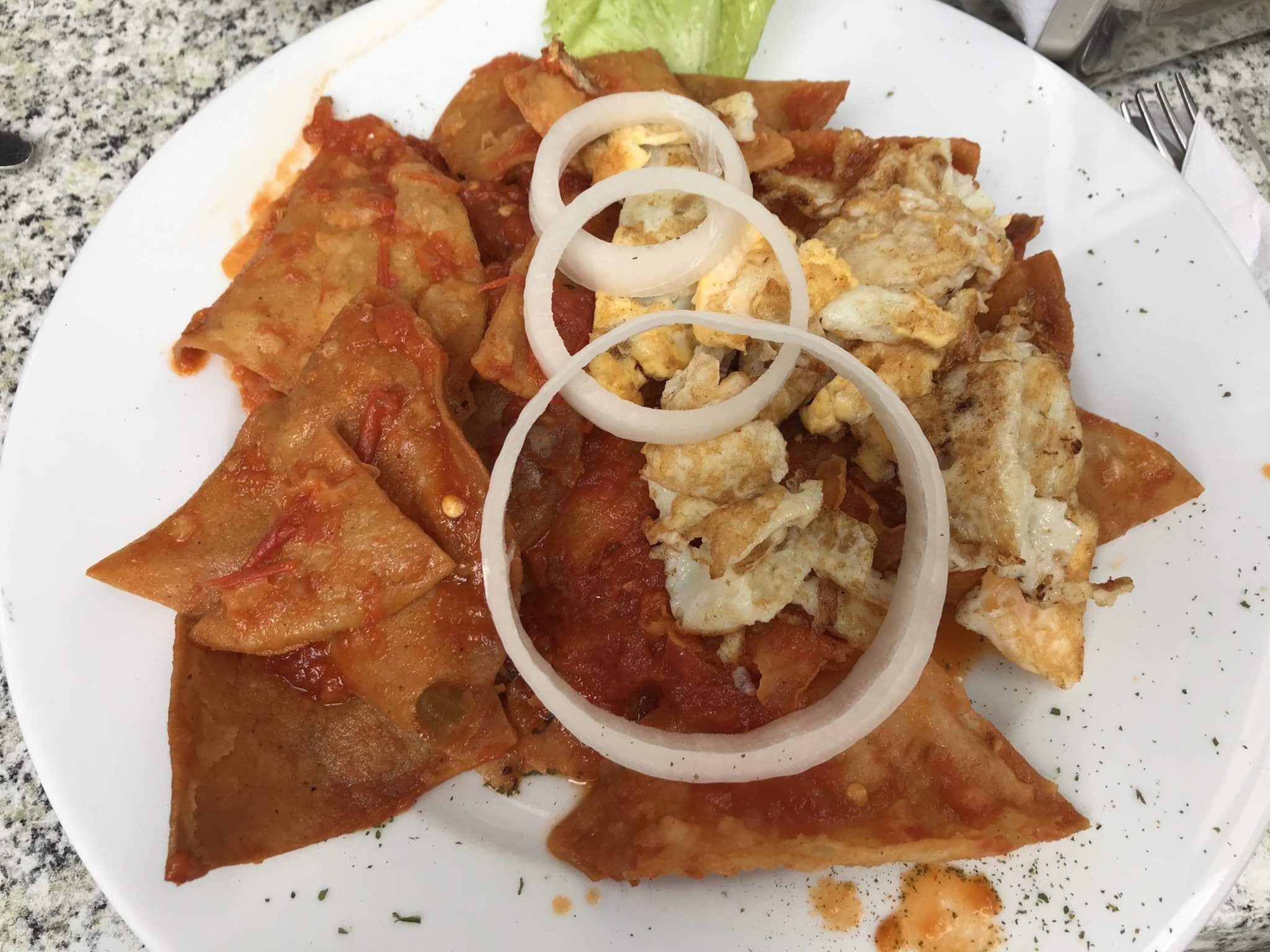 Visit Michoacán | Chilaquiles for Breakfast