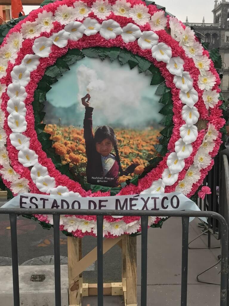 Estado de Mexico Wreath | Day of the Dead
