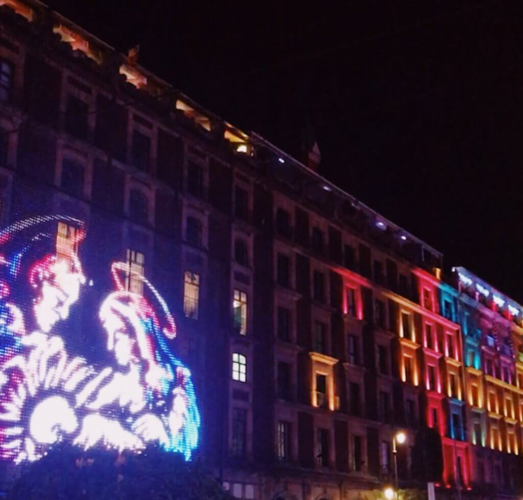 Christmas in Mexico City | Lights in the Zocalo
